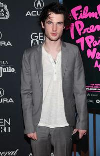 Tom Sturridge at the screening of