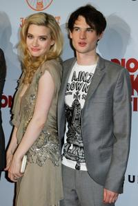 Talulah Riley and Tom Sturridge at the premiere of