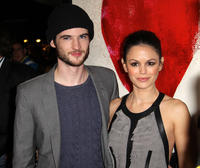 Tom Sturridge and Rachel Bilson at the premiere of