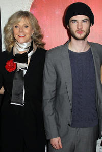 Blythe Danner and Tom Sturridge at the premiere of