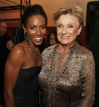 Jada Pinkett Smith and Cloris Leachman at the after party of the premiere of