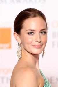 Emily Blunt at the Orange British Academy Film Awards.