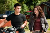 Taylor Lautner and Kristen Stewart in
