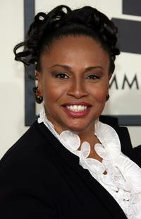 Jennifer Lewis at the 50th Annual Grammy Awards.