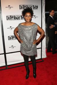 Joie Lee at the 20th Anniversary Screening of