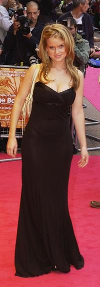 Alice Eve at the London premiere of