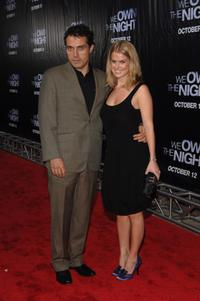 Rufus Sewell and Alice Eve at the New York premiere of