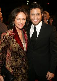 Jacqueline Bisset and Edgar Ramirez at the premiere of