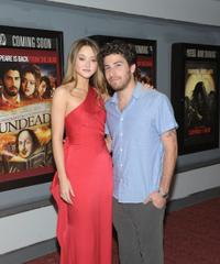 Devon Aoki and Jake Hoffman at the premiere of