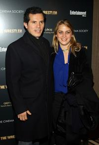John Leguizamo and Justine Maurer at the special screening of