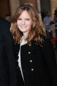 Actress Jennifer Jason Leigh at the premiere of
