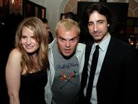 Jennifer Jason Leigh, Jack Black and Noah Baumbach at the premiere of