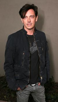 Donovan Leitch at the opening of the new Oscar De La Renta Boutique.