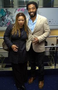 Kasi Lemmons and Chiwetel Ejiofor at the premiere of