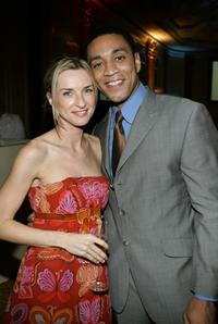 Ever Carradine and Harry J. Lennix at the inaugural ball and premiere of