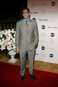 Harry J. Lennix at the inaugural ball and premiere of