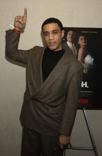 Harry J. Lennix at the premiere of