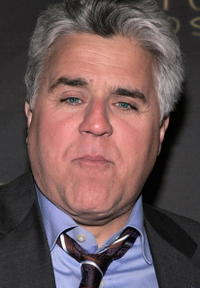 Jay Leno at the opening night of Billy Crystals