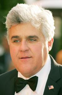 Jay Leno at the Vanity Fair Oscar Party.