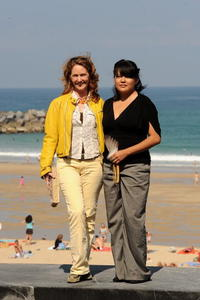 Melissa Leo and Misty Upham at the photocall of