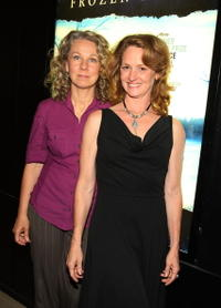Director Courtney Hunt and Melissa Leo at the screening of