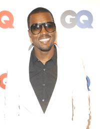 Kanye West at the GQ Magazine's 50th Year Celebration party.