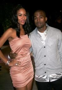 Alexis and Kanye West at the 2007 Vanity Fair Oscar party.