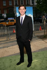 "John Krasinski at the premiere of ""Shrek the Third"" in New York City."