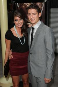 Justine Wachsberger and Julian Morris at the premiere of
