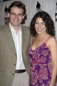 Robert Sean Leonard and Lisa Edelstein at the Phoenix House Awards.