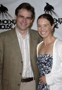 Robert Sean Leonard and Gabby Sarick at the Phoenix House Awards.