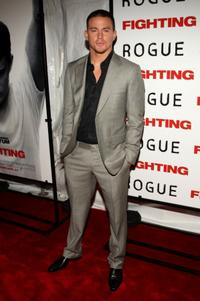 Channing Tatum at the premiere of