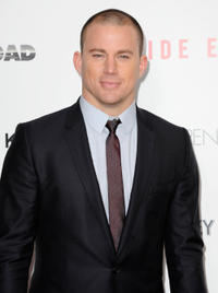 Channing Tatum at the New York premiere of