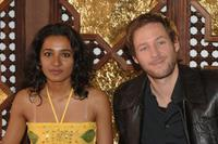 Tannishtha Chatterjee and Florian Gallenberger at the photocall of