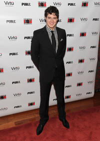 Benjamin Walker at the after party of the opening night of