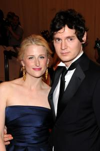 Mamie Gummer and Benjamin Walker at the