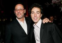 Shawn Levy and Jean Reno at the New York after party for the premiere of
