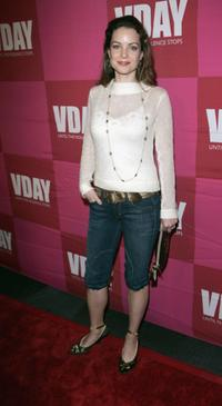 Kimberly Williams-Paisley at the opening night of Eve Enslers