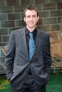 Matthew Lewis at the premiere of