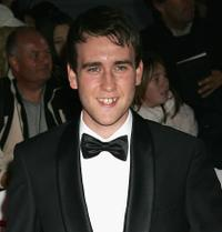 Matthew Lewis at the National Movie Awards.