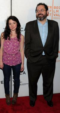 Sarah Steele and Mark Barker at the premiere of