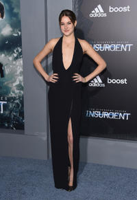 Shailene Woodley at the New York premiere of