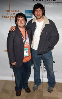 Director Matt Oates and Josh Cooke at the premiere of