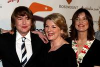 Richard Wilson, Brenda Blethyn and Director Cherie Nowlan at the LA premiere of
