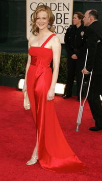 Laura Linney at the 63rd Annual Golden Globe Awards in L.A.