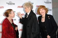 Patricia Barry, Pat Morrison and Elaine Stritch at The 2005 Tony Awards Party & 'The Julie Harris Award'.