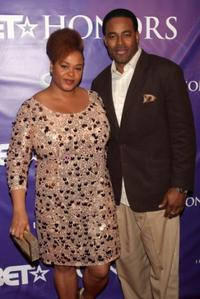 Jill Scott and Guest at the BET Honors.