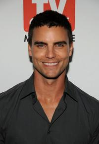 Colin Egglesfield at the PaleyFest and TV Guide Magazine's The CW Fall TV Preview party.
