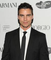Colin Egglesfield at the welcome dinner for the Sydney Theatre Company.