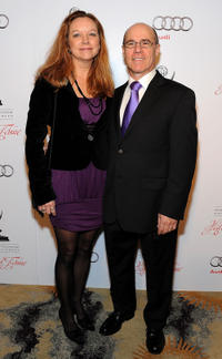 Barry Livingston and Guest at the Academy of Television Arts & Sciences' 21st Annual Hall of Fame Gala in California.
